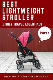Kolcraft Umbrella Stroller With Canopy by Disney Travel Essentials 1 A Lightweight Stroller Social