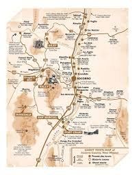 New Mexico County Map by Ghost Towns Of Socorro County Visit Socorro New Mexico