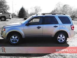 Ford Escape Blue - rtint ford escape 2008 2012 window tint kit diy precut ford