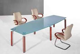 Frosted Glass Conference Table Classique Modern Office Furniture On Sale Now For Half Price