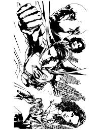 superman comic coloring u0026 coloring pages