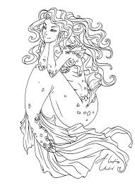 38 mermaid coloring pages images mermaid