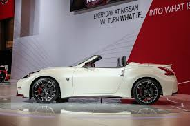 nissan 370z nismo wheels nissan 370z nismo roadster concept makes its debut in chicago
