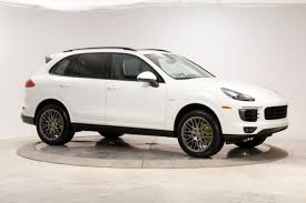 porsche suv 2017 used 2017 porsche cayenne e hybrid for sale knoxville tn