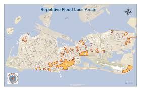 Map Florida Keys by Historical Flooding Key West Fl