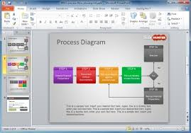 process map template powerpoint create your own flow chart or
