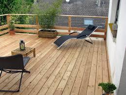 terrasse suspendue en bois construction bois charpente galland