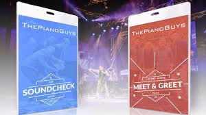 the piano guys the living room soundcheck and meet greet passes