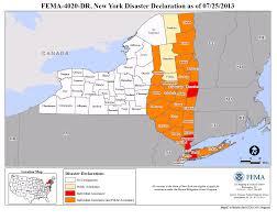 Map Upstate New York by New York Hurricane Irene Dr 4020 Fema Gov