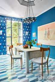Teal Dining Room 7 Scene Stealing Tiled Walls Thou Swell