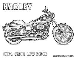 free motorcycle coloring page letscoloringpages com harley best of