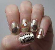 thanksgiving turkey nail art nerdy for nails november 2013