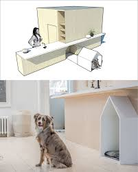 plywood design the family dog was considered in the design of this toronto house