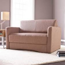 Space Saving Loveseat Pull Out Loveseat Sleeper Foter