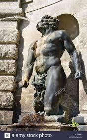 Greek God Statues Greek God Statue As A Water Fountain At Powerscourt In Ireland