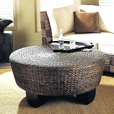 Wicker Storage Ottoman Coffee Table Rattan Ottoman Coffee Table S Wicker Storage Ottoman Coffee