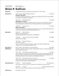 Chronological Resume Template Chronological Resume Template Resume Sles Chronological