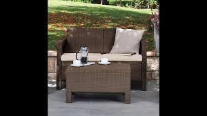 Patio Furniture Review Review Keter Corfu Love Seat All Weather Outdoor Patio Garden
