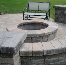 Unilock Fire Pit by Stone Natural Stone Faux Stone Travertine Tiles Manufactured
