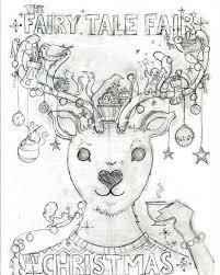fairy tale fair christmas illustration the fairy tale fair