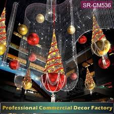 Commercial Christmas Decorations To Buy by Custom Commercial Christmas Shopping Mall Ceiling Hanging