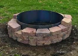 Custom Fire Pit by Best 25 Steel Fire Pit Ring Ideas Only On Pinterest Fire Pit