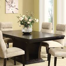 Espresso Dining Room Furniture Shop Homelegance Avery Extending Dining Table At Lowes Com