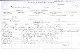 Panama Canal Employees Service Record Cards Part 2