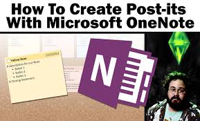 post it windows 7 bureau how to create sticky post it notes with onenote 2013