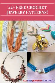 necklace jewelry patterns images 42 free crochet jewelry patterns jpg
