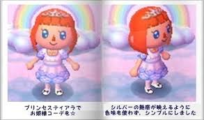 acnl qr code hair gaiacrossing tiaras for various hair colors a blog for