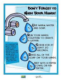 printable poster for hand washing hand washing poster teacherlingo com