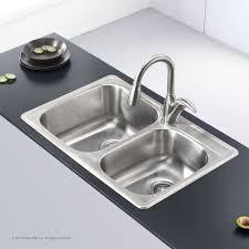 best stainless steel undermount sink top mount kitchen sinks stainless steel kraususa com 23 quantiply co