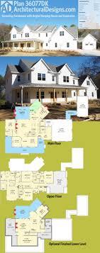 architectural designs house plan 36077dk is a sprawling farmhouse
