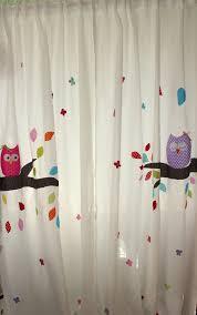 kinderzimmer vorh nge gardinen vorhänge kinderzimmer vorhang gardine eulentraum
