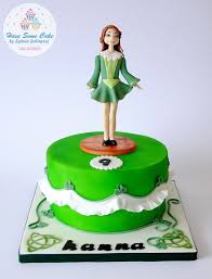 irish dancer cake sylwia sobiegraj cake designer cakesdecor