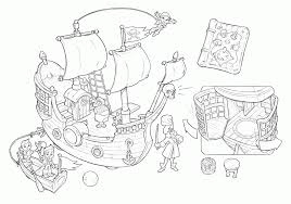 coloring pages jake neverland pirates colouring print colorine