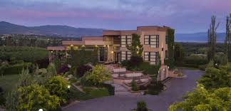 Kelowna Luxury Homes by Introducing Harvest Ridge Luxury Orchard Estate The Garage Sale