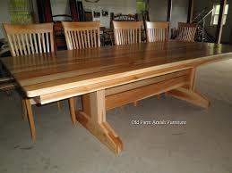 Amish Dining Room Furniture Custom Dining Room Table Chairs By Farm Amish Furniture