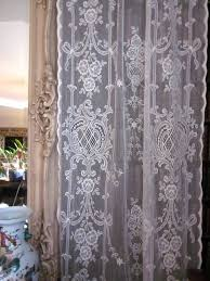 Lace Fabric For Curtains 66 Best Lace Curtains Images On Pinterest Lace Curtains Window