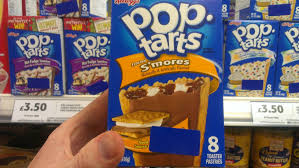 Poptarts Meme - pop tarts in england have a sticker over the nutritional