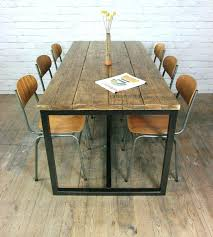 Vintage Oak Dining Chairs Dining Table Vintage Dining Room Table For Sale Industrial Cast