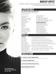 makeup artist resume templates jospar