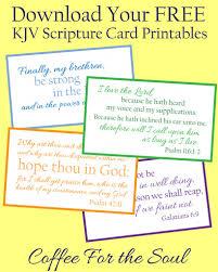 free kjv scripture card printables free printables
