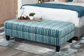 adler fabric medium rectangle ottoman living spaces