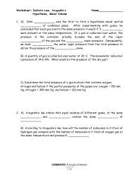 molar volume worksheet free worksheets library download and