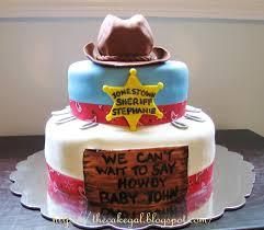 cakes cowboy baby shower cake