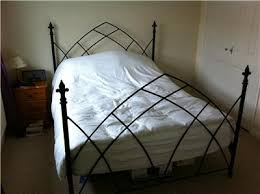 daybed wrought iron frame antique queen king size beds sale