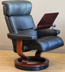 stressless recliner personal computer laptop table for ekornes