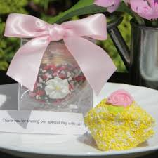 wedding favors unlimited wedding fortune cookie in clear favor gift box